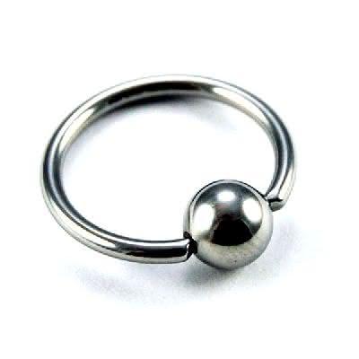 Ball Closure Ring, Titan [10 Stk.]