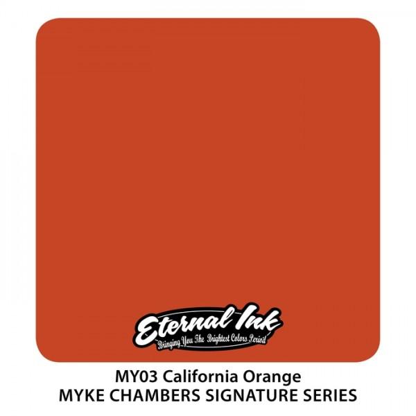 Eternal Ink - Myke Chambers / California Orange