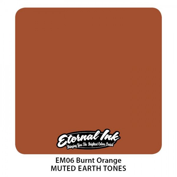 Eternal Ink - Muted Earth Tones / Burnt Orange