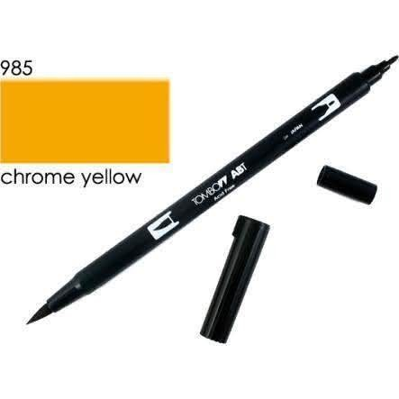 Tombow - ABT Dual Brush [985 Chrome Yellow]