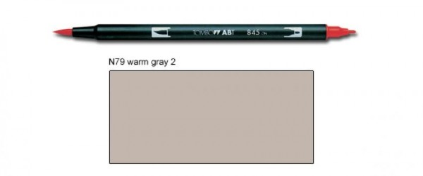 Tombow - ABT Dual Brush [N79 Warm Grey 2]