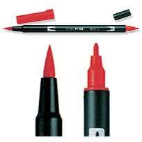 Tombow ABT Dual Brush 847 Crimson