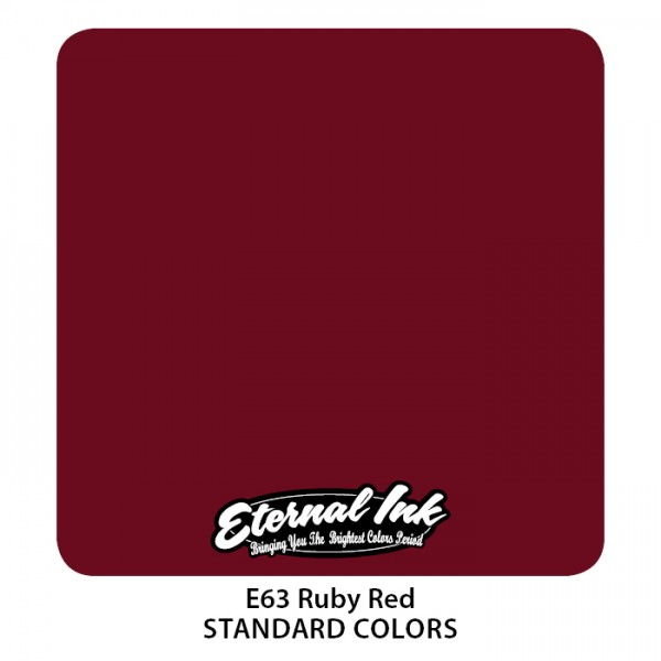 Eternal Ink - Standard Colors / Ruby Red