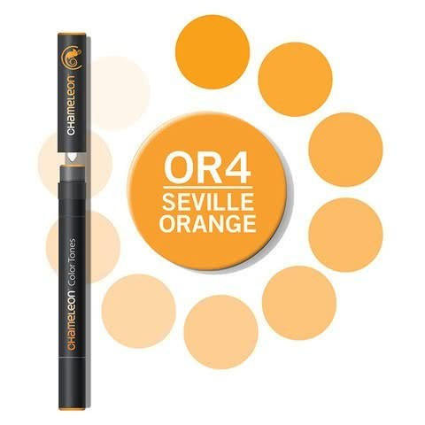 Chameleon Color Tones - Seville Orange