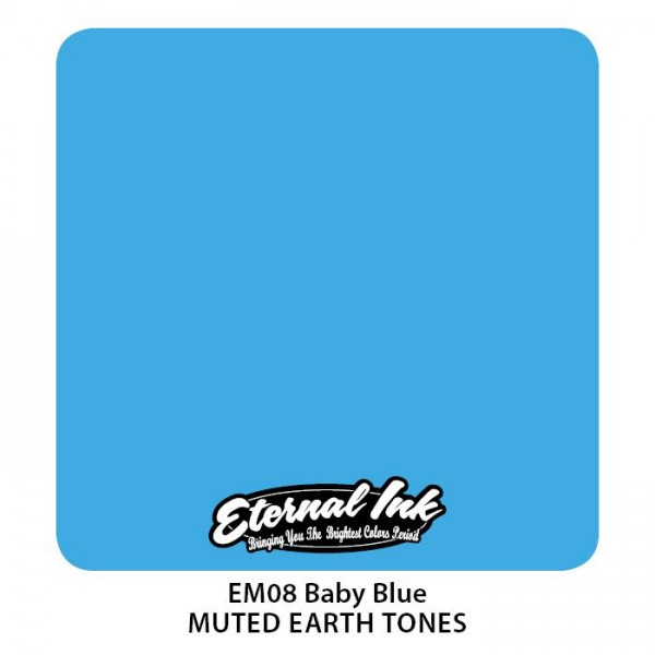 Eternal Ink - Muted Earth Tones / Baby Blue