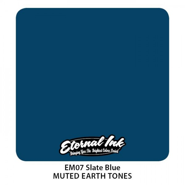 Eternal Ink - Muted Earth Tones / Slate Blue