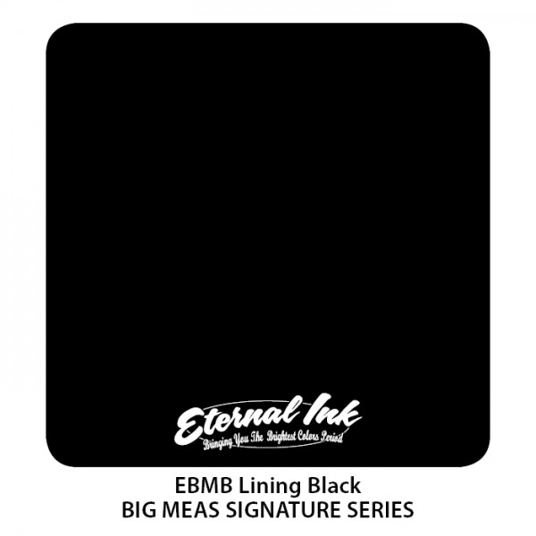 Eternal Ink - Big Meas / Lining Black 120ml