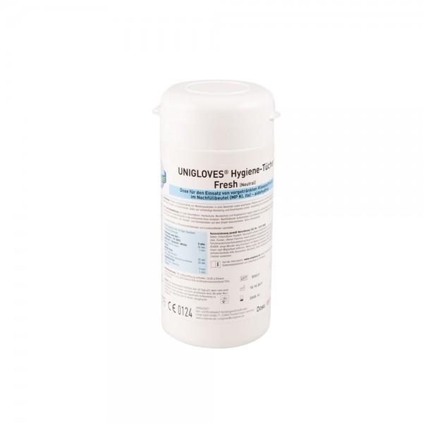 Unigloves - Spenderbox | Hygiene-Tücher [120 Stk.]