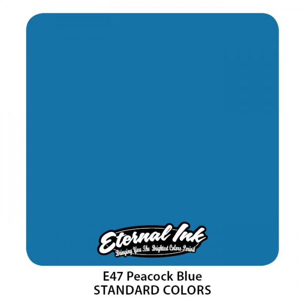 Eternal Ink - Standard Colors / Peacock Blue