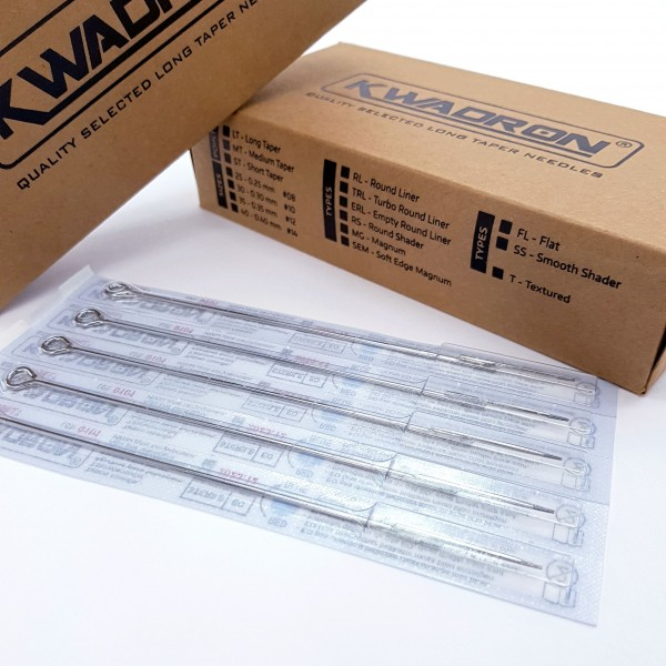 Kwadron Tattoo Needles - 025 Round Liner