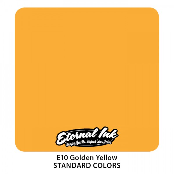Eternal Ink - Standard Colors / Golden Yellow
