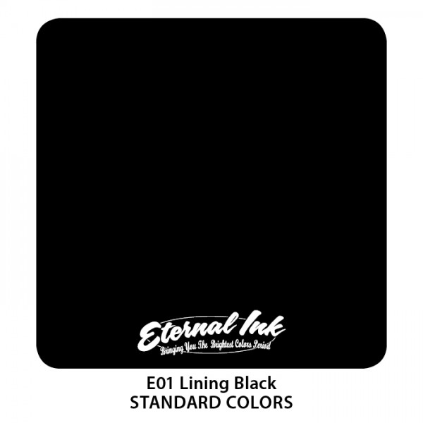 Eternal Ink - Standard Colors / Lining Black