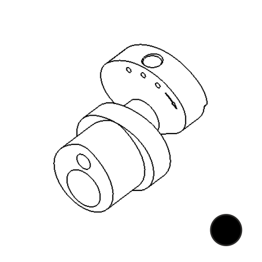 Ink Machines - Stingray No. 80 [Cam Stroke Standard (Black) - 3,5mm]