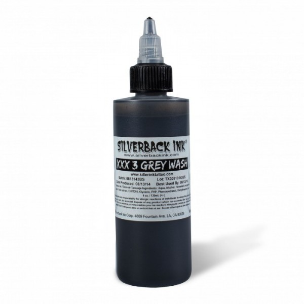 Silverback Ink - XXX3 Greywash 120ml