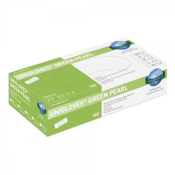 Unigloves | Green Pearl - Nitrilhandschuhe