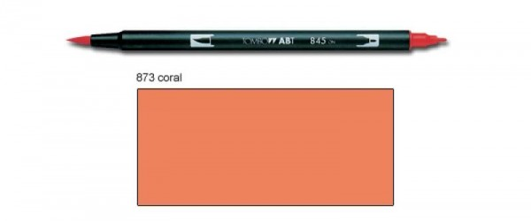 Tombow - ABT Dual Brush [873 Coral]