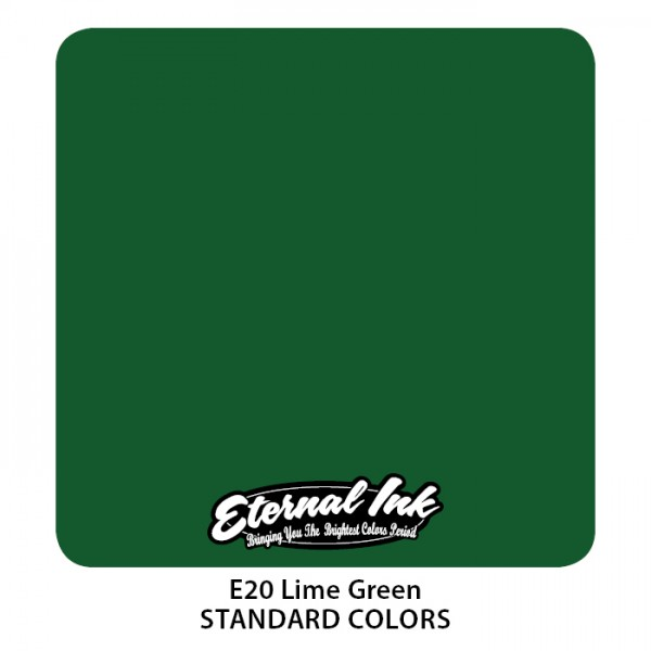 Eternal Ink - Standard Colors / Lime Green
