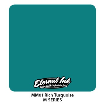 Eternal Ink - M Series / Rich Turquoise