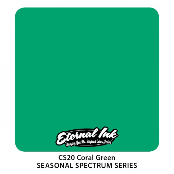 Eternal Ink - Seasonal Spectrum / Coral Green
